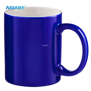 11 Oz. Black Color Changing Sublimation Mug