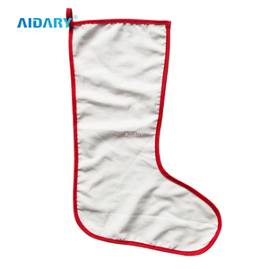 AIDARY High Quality Sublimation Blank Christmas Socks