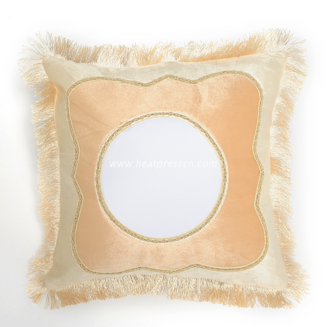 Sublimation European Style Beige Pillowcase PL26