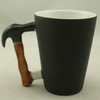 12oz Cone Color Changed Mug with Hammer Handle P1-MHM