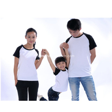 Polyester T-Shirt with Sleeve Colorful for Women PT-W1