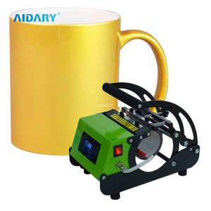 AIDARY AAA Grade Sublimation Golden Mug