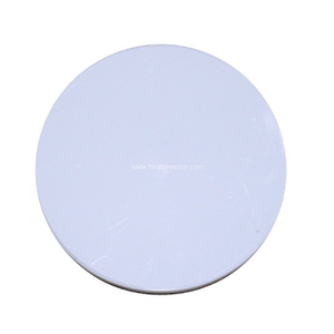 Sublimation Plastic Round Mug Pad