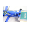 4 Color 1 Station Rotary Screen Printing Machine