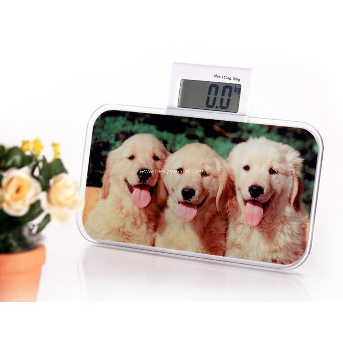 Sublimation Mini Electronic Glass Frame BL19