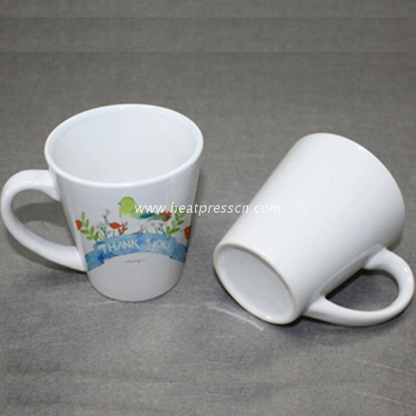 12oz Cone Photo Mug for Sublimation