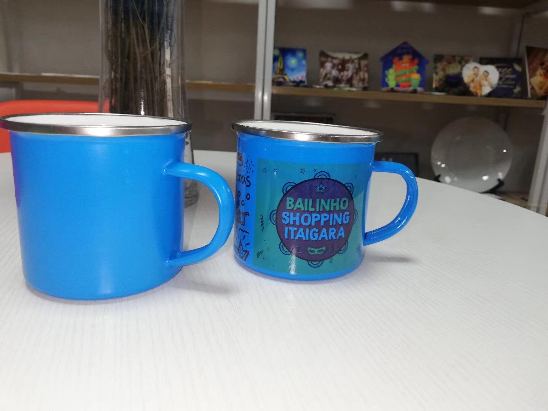 Sublimation Colorful Stainless Steel Enamel Mug (3)