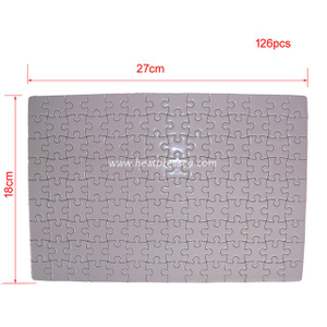 18*27CM 126pcs Sublimation Puzzle P01