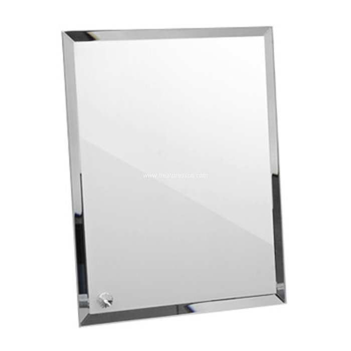 "8"" Mirror Frame for Sublimation Transfer BL01"