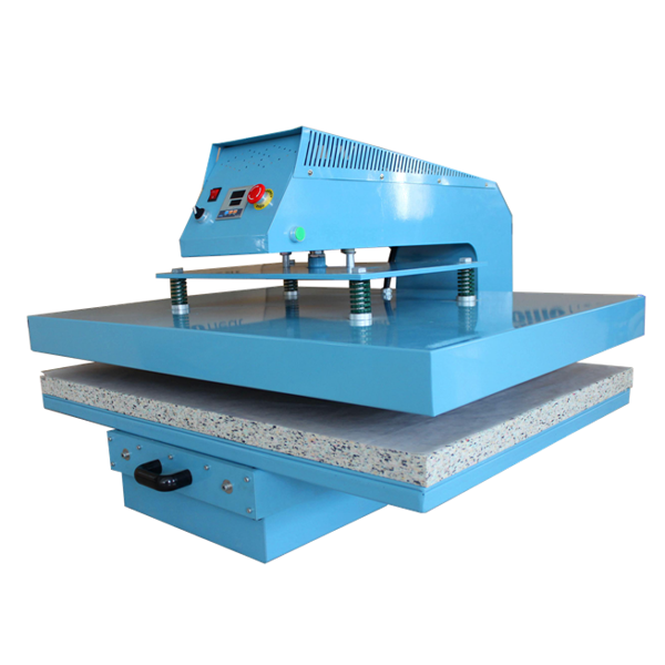 Slide Out Design Big Format 75x105cm Pneumatic Heat Transfer Machine B5