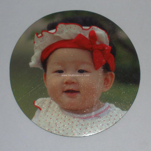 Small Sublimation Refrigerator Sticker