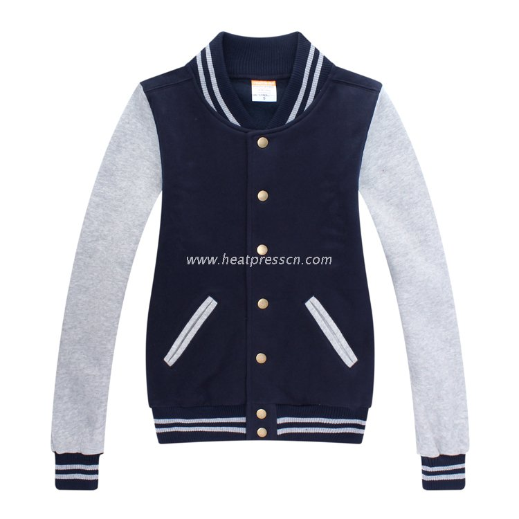 combed cotton Baseball Jacket (Child)