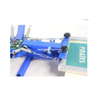 4 Color 2 Station Rotary Screen Printing Press