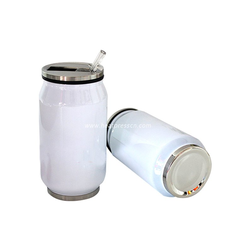 350ml Sublimation Stainless Steel Cola Bottle