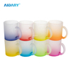 AIDARY Wholesales Best Quality Sublimation Personalized 11oz Glass Mug