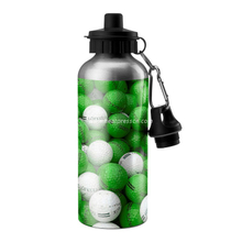 Nozzle Top Sublimation Sport Bottle (Silver)
