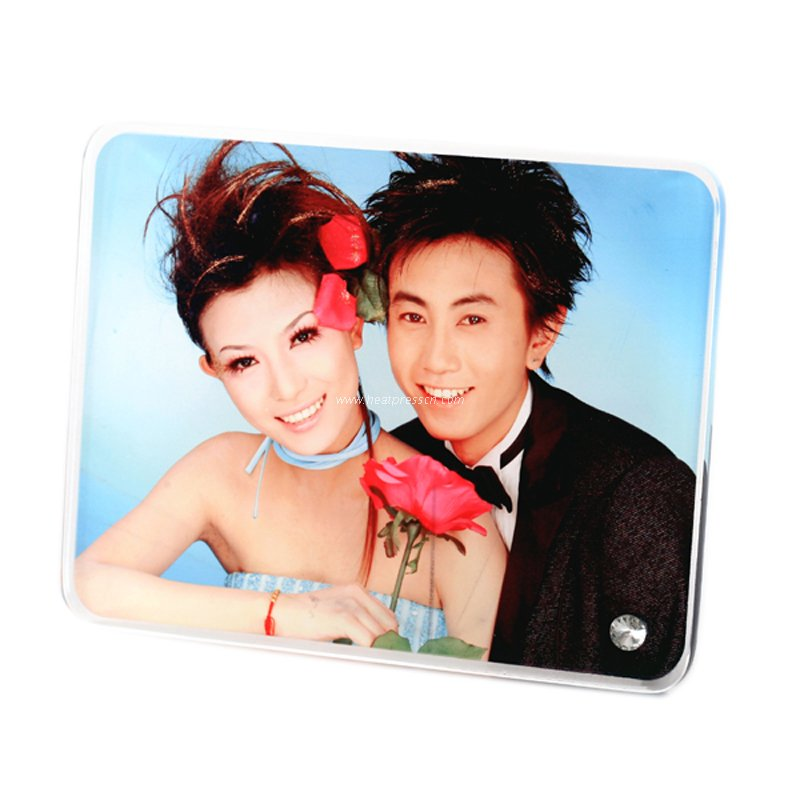 "8""Rounded Crystal Photo Frame BL06"