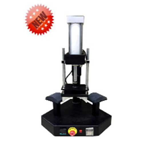LCD Controller Double Working Base Pneumatic Cap Press Machine AD2815