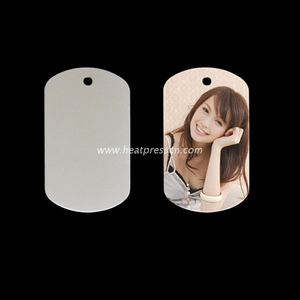 Stainless Steel Pendent Dog Tag for sublimation