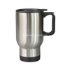 Stainless Travel Mug,Silver FOR SUBLIMATION DYE HEAT TRANSFER