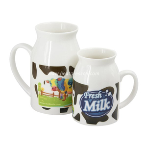Sublimation Milk Cup