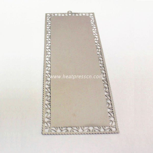 Sublimation Metal Book Marker gold/silver