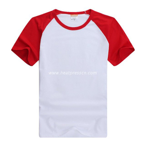 Cotton T-Shirt with Sleeve Colorful for for Women CT-W2