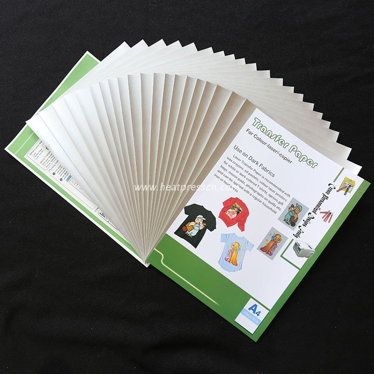 A4 Siliver Deep Transfer Paper for Laser Printer SDPL