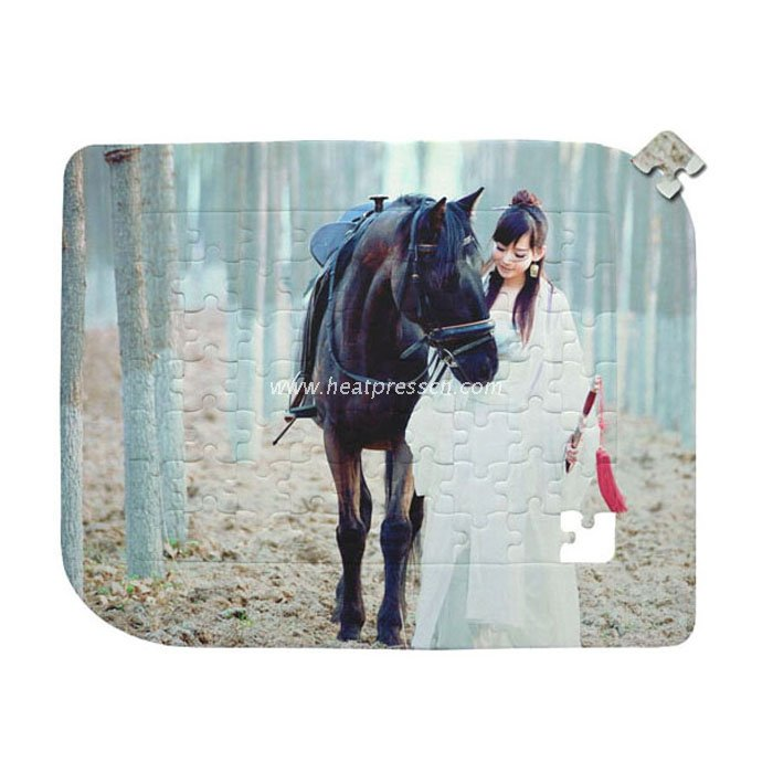 Leaf Shape Sublimation Puzzle Photo Frame AS-39