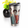 Silver Cone-shape Sublimation Blanks Stainless Steel Mugs