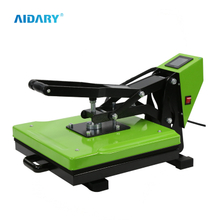 Unique Design Arc Body Different Color Available LED Panel Cheap Heat Press Machine